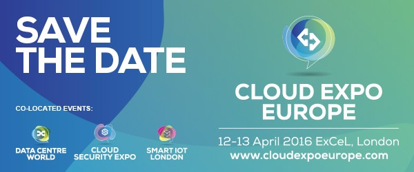 CLOUD EXPO EUROPE IS BACK...