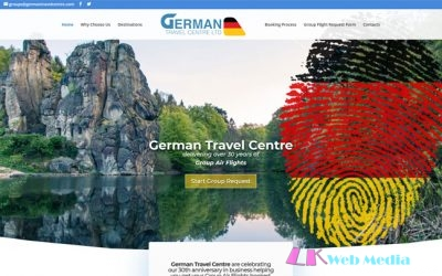 LK Web Media are Pleased to Announce the Launch of German Travel Centre's -New Website
